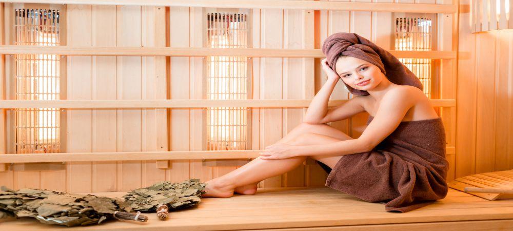 infrared saunas bathing