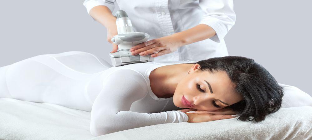lipomassage cellulite treatment on back